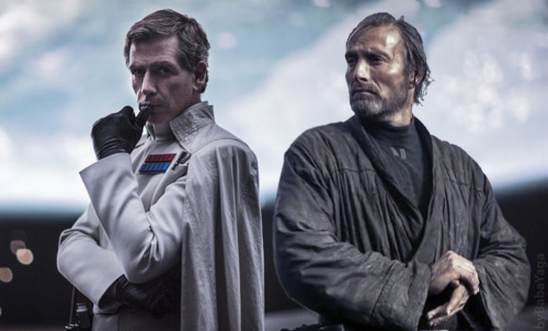 Galen Erso and Orson Krennic. (Photo courtesy of The Cantina)