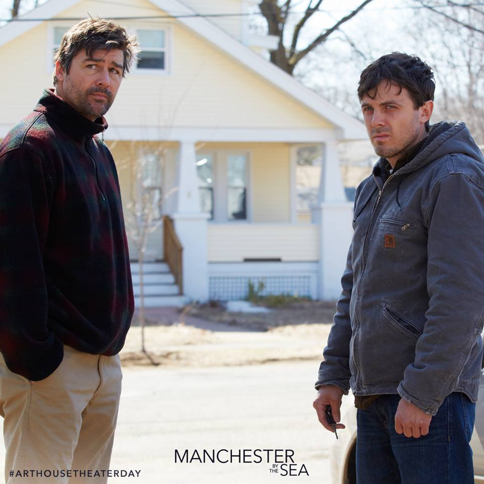 "Kyle Chandler and Casey Affleck in ""Manchester by the Sea."" (Photo from Facebook)"