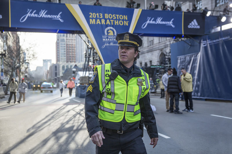 "Mark Wahlberg in ""Patriots Day."" (Photo from comingsoon,net)"