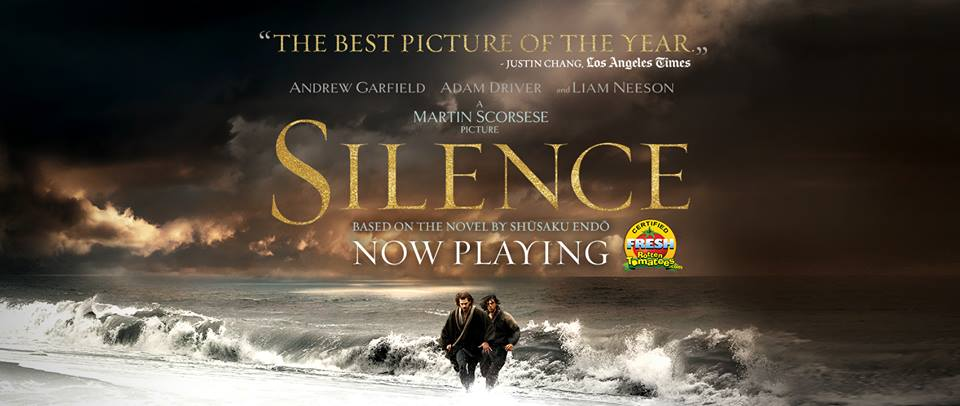 "Poster of ""Silence"" (Photo from Silence Movie Facebook Page)"
