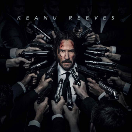 """Promo poster for """"John Wick 2."""" (Photo from Facebook)"""
