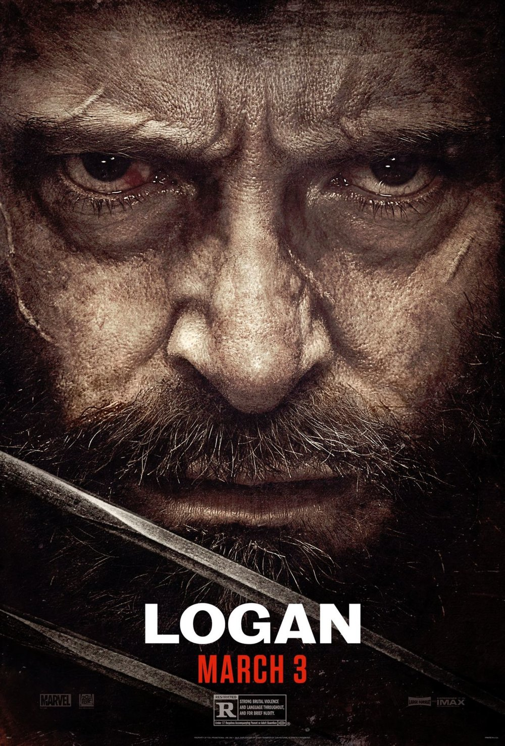 "Theatrical poster of ""Logan"" from ComingSoon.Net"