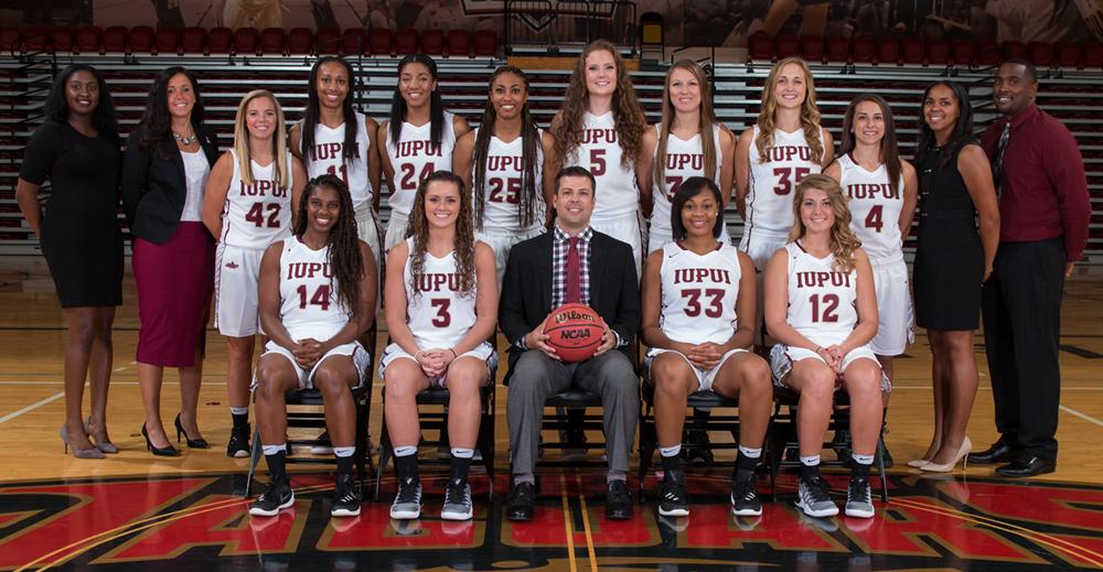 IUPUI Women's Basketball Team 2016-2017 (iupuijags.com)