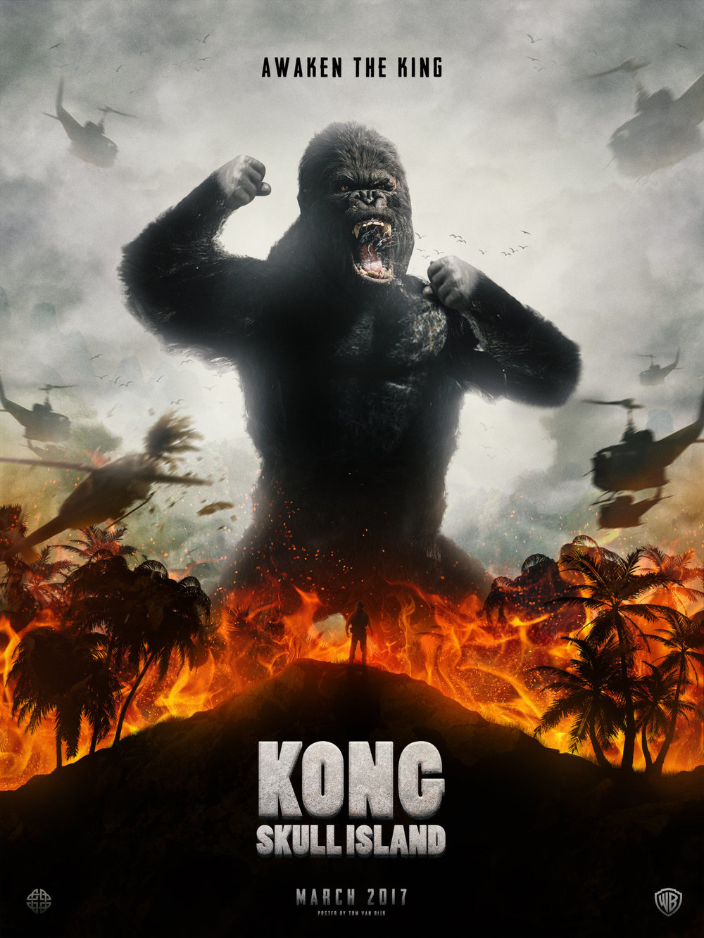 """Official promo for """"Kong: Skull Island."""" (Photo from IMDB)"""