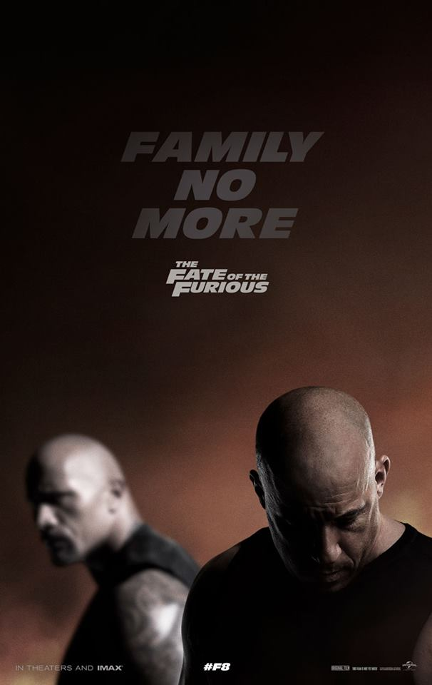 """Theatrical Poster of """"The Fate of the Furious"""". Photo from Facebook."""