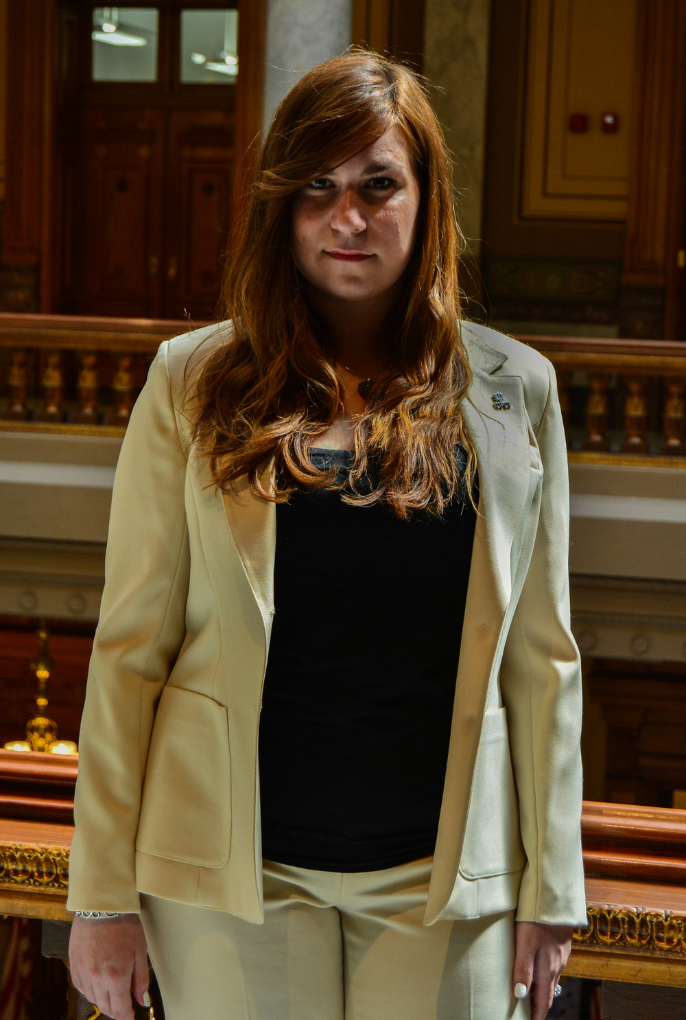 President of the Senate candidate, Laura Hosek.