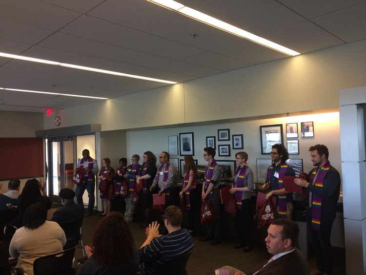 IUPUI's Fifth Lavender Graduation