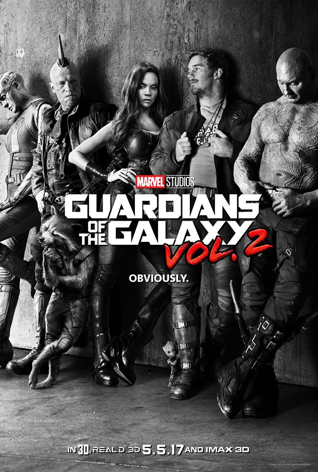 "Teaser poster of ""Guardians of the Galaxy Vol. 2"" (Photo from Guardians of the Galaxy Facebook page)"