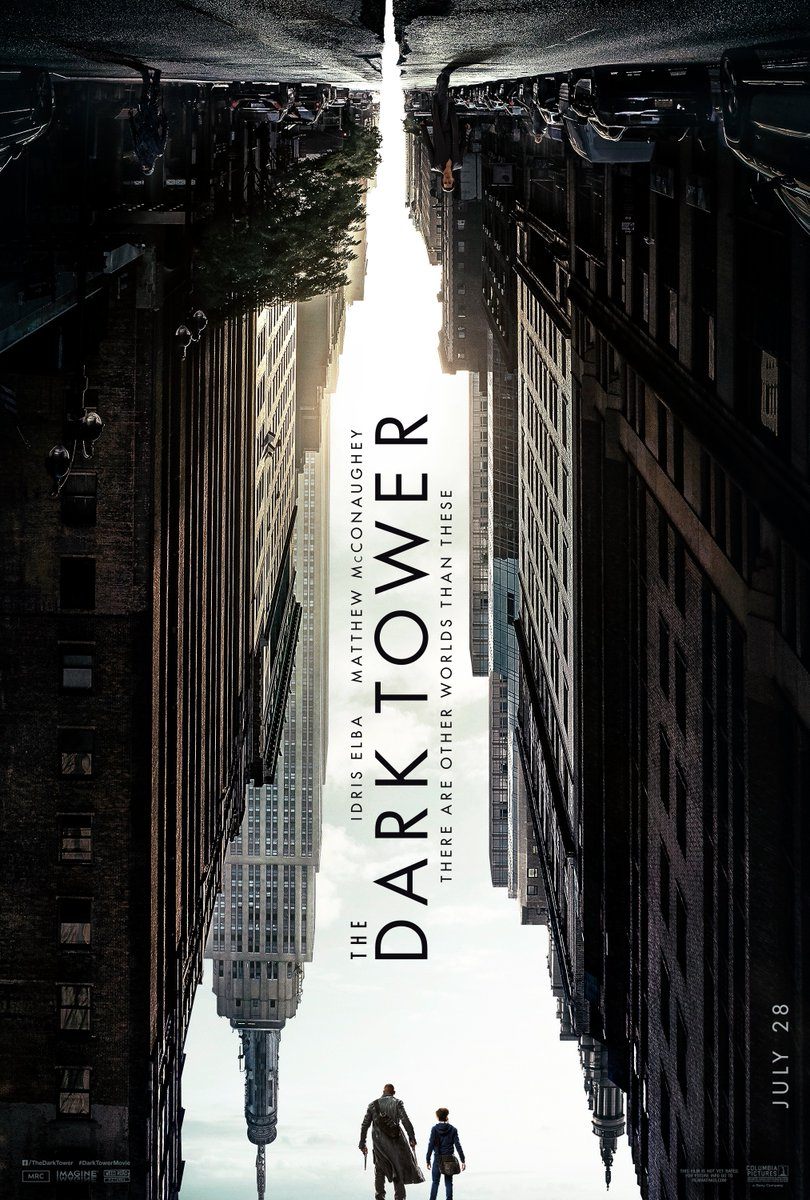 """""""The Dark Tower"""" promotional poster. (Photo from Collider)"""