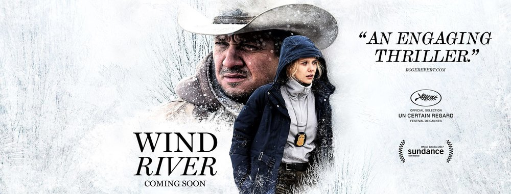 """Wind River"" film poster from Bleeding Cool"