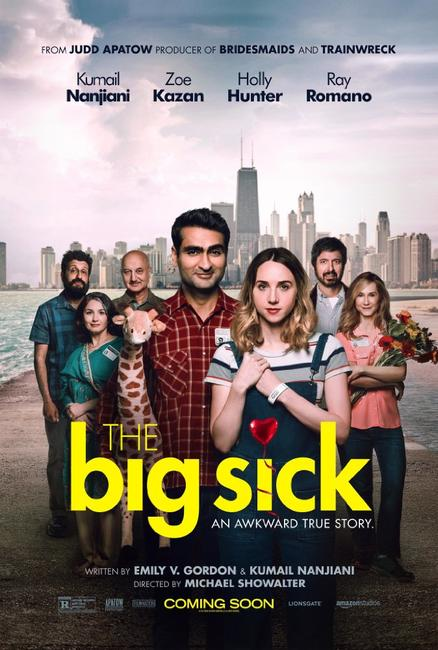 """The Big Sick"" film poster from Fandango"