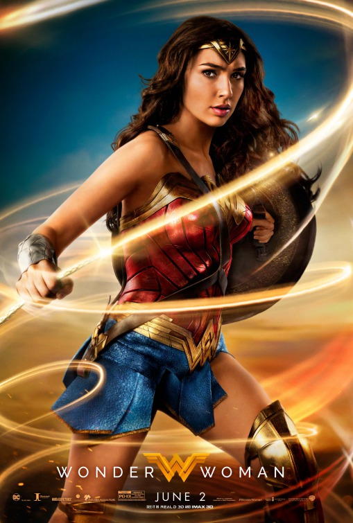 """Wonder Woman"" film poster by IMP Awards"
