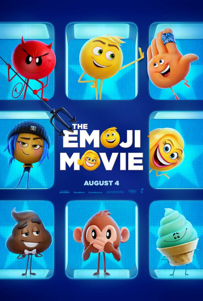"""The Emoji Movie"" film poster from Empire"