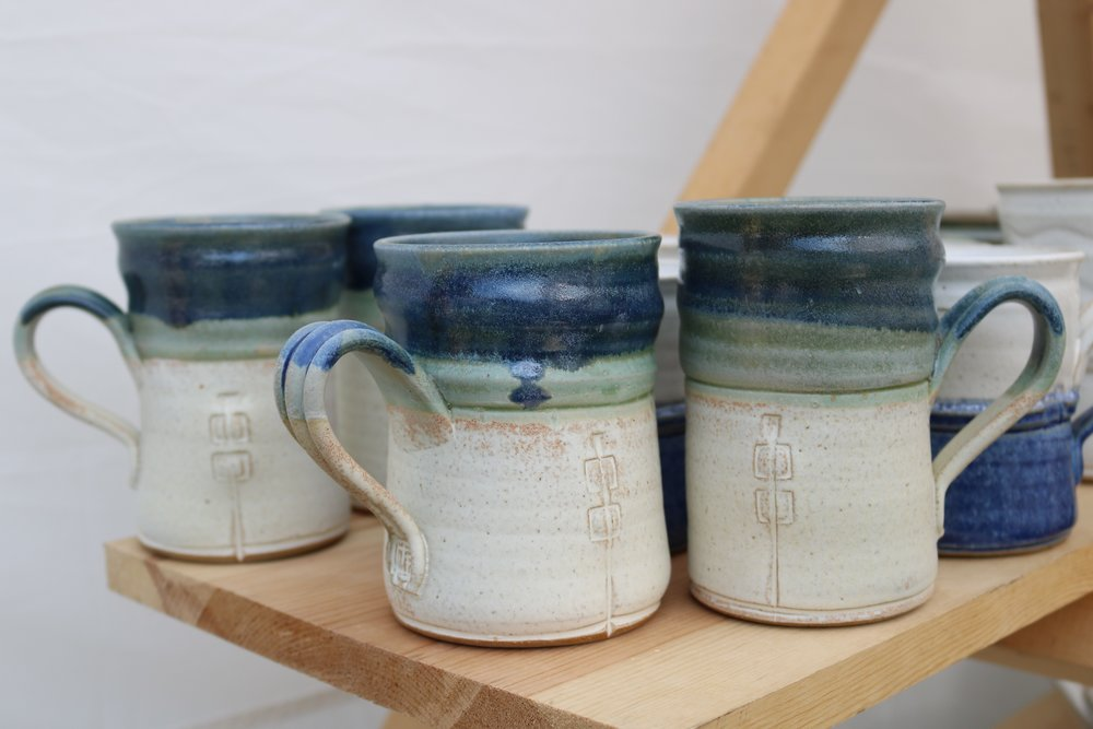 Frahm's work can be found through his facebook page @ Tad Frahm Pottery.