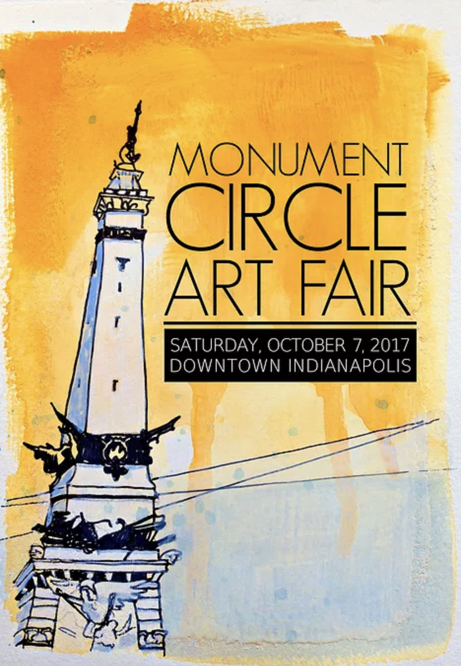 Photo from Monument Circle Art Fair website.