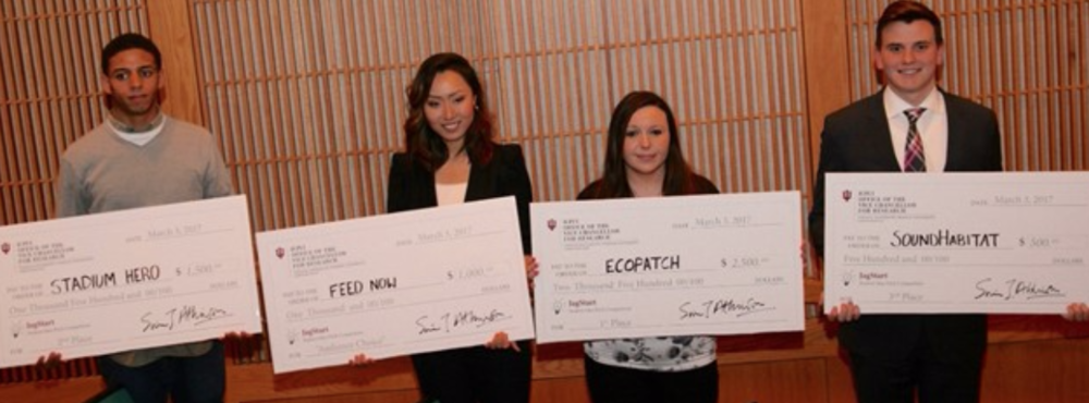 Winners of last year's competition. (Image courtesy of Office of the Vice Chancellor for Research.)