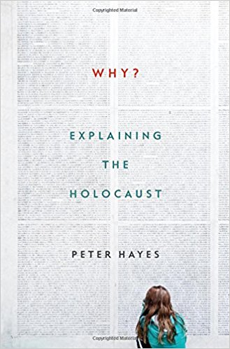 "The cover of ""Why? Explaining the Holocaust"" (Image courtesy of Amazon)"