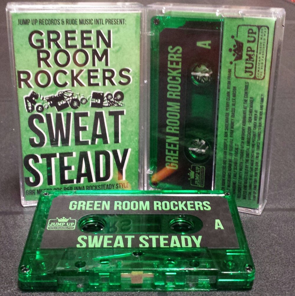 Sweat Steadycassette. Photo courtesy of Facebook.