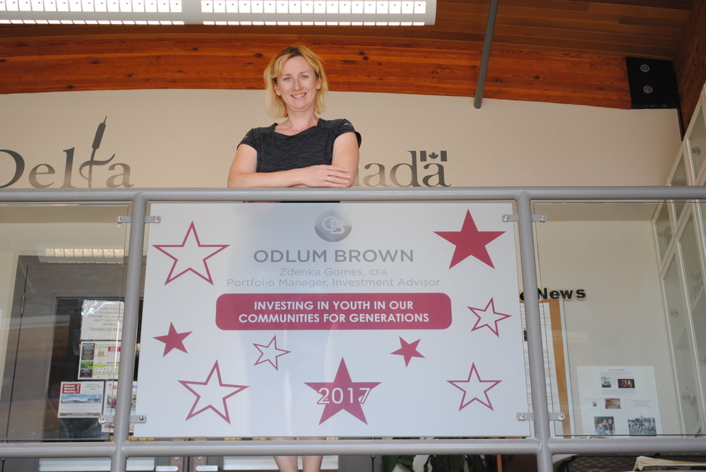 Thank you to Zdenka Gomes of Odlum Brown