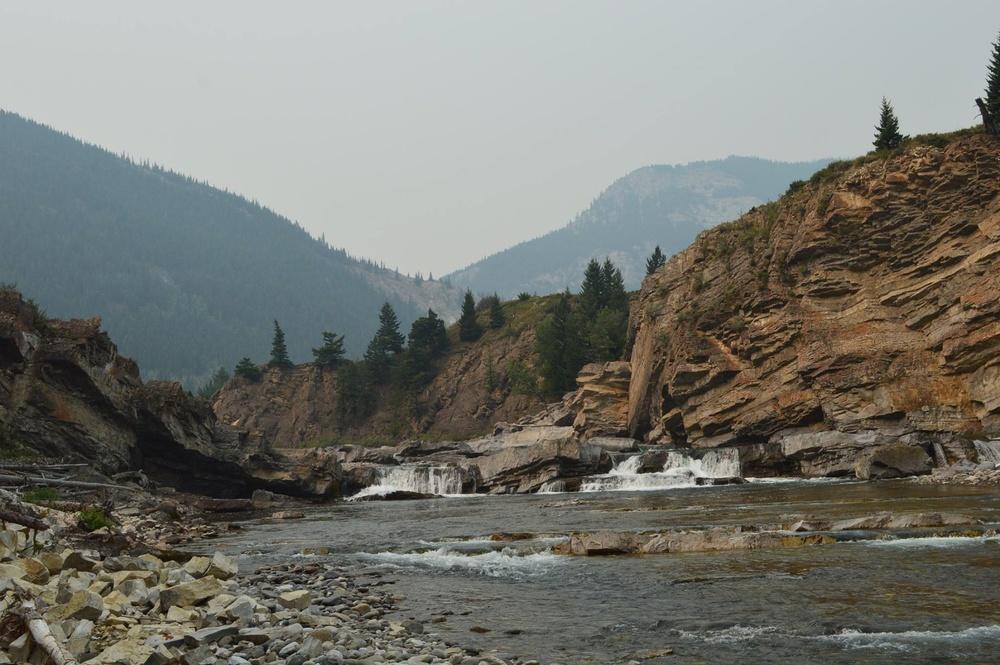 The Upper Oldman River