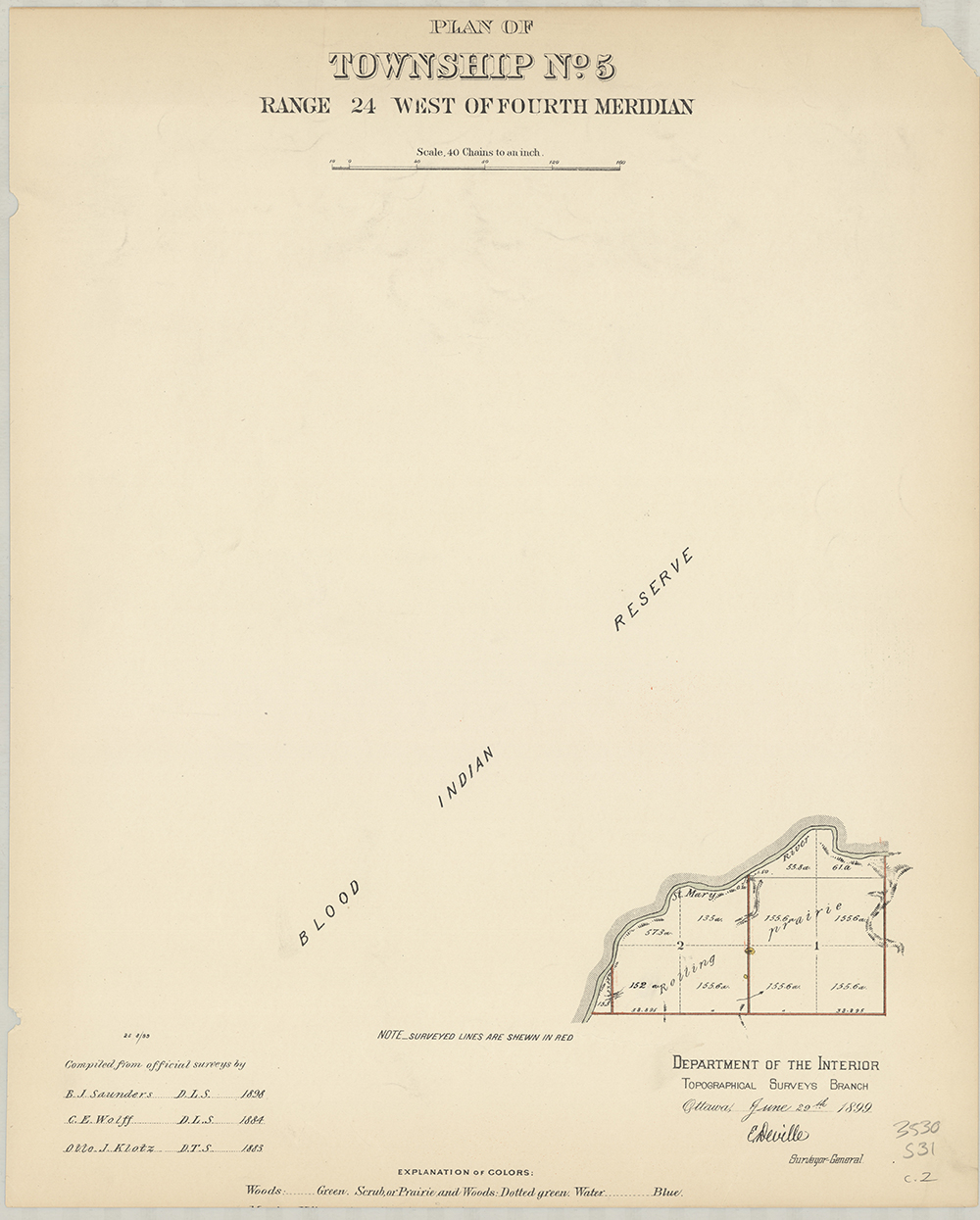 Plan of Township No.5