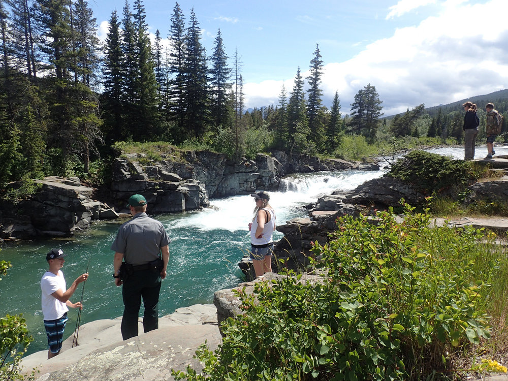 Photo credit: Thomas Porter Castle Falls Provincial Recreation Area
