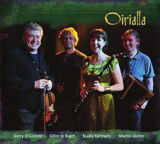 Oirialla album cover Nuala Kennedy