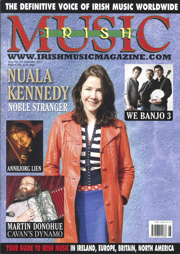 Nuala Kennedy Irish Music Magazine cover