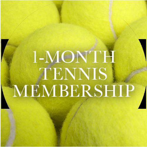 1-Month Tennis Membership