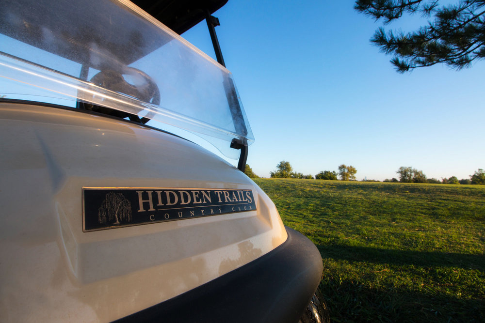 Hidden Trails Golf Cart