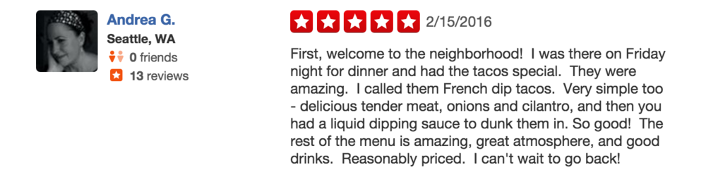 Meet the Moon Yelp Review