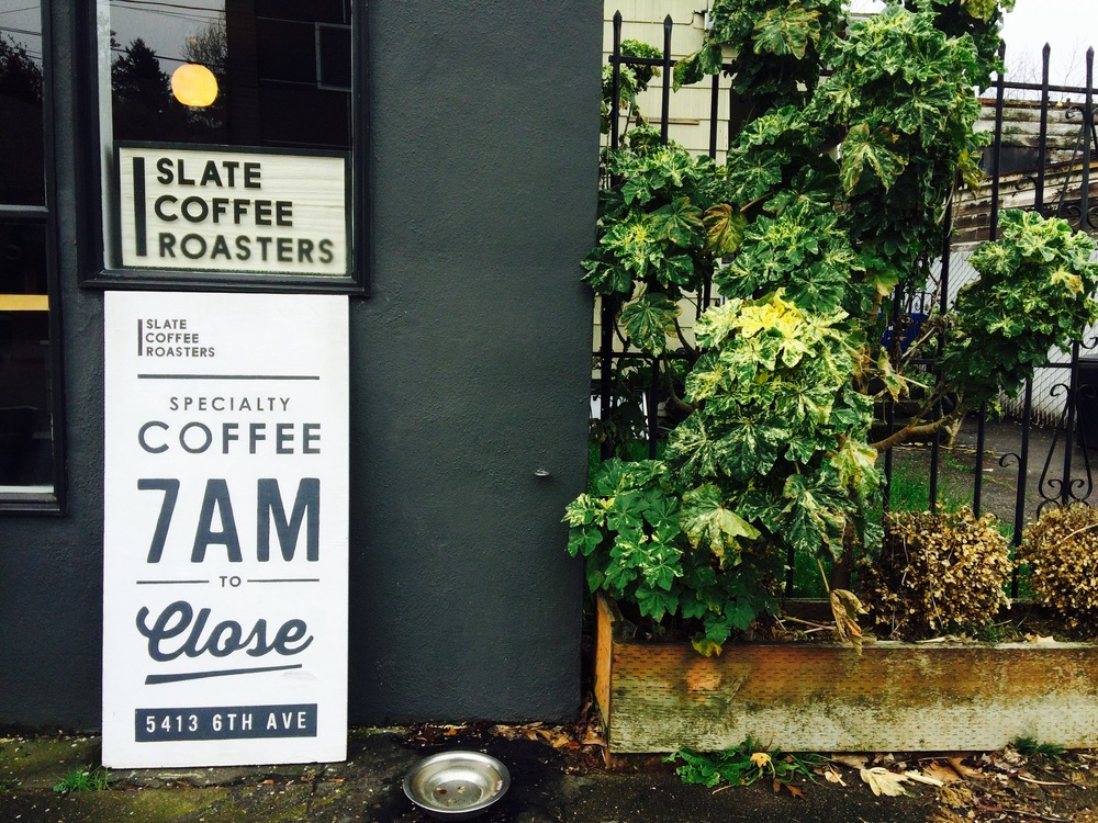 Slate Coffee Roasters, Ballard