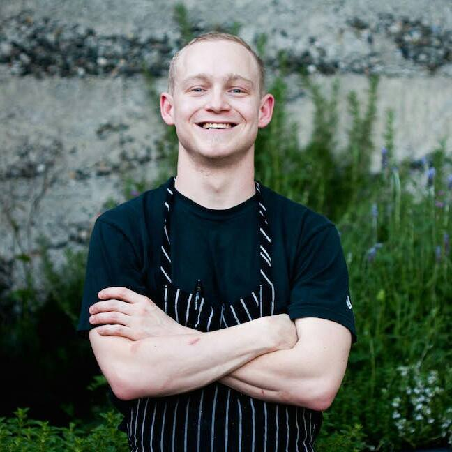 Chef Brandt Bishop, currently at Canon through the end of march