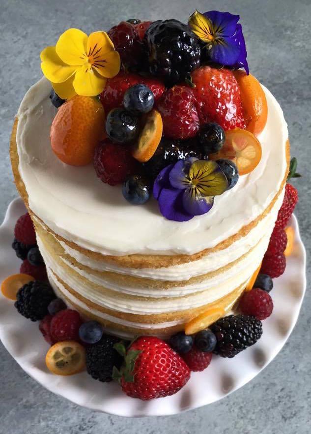 Naked Cake by MasterChef Amanda Saab