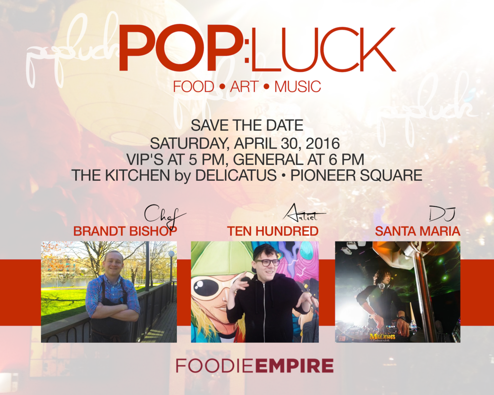 Foodie Empire Seattle PopLuck