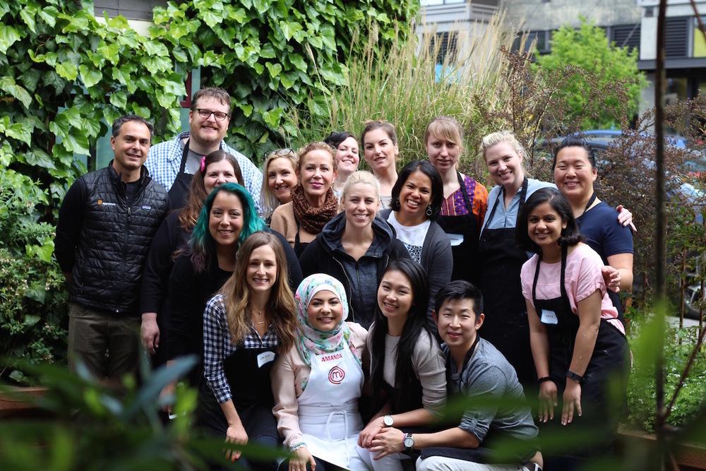 "Seattle MasterChef Amanda Saab and the ""Bake a Naked Cake"" Class"