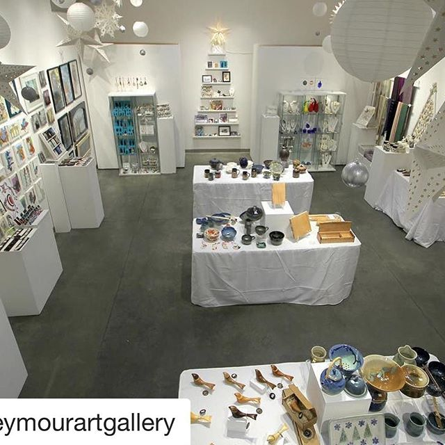 Don't forget to check out the Seymour Art Gallery this Xmas shopping season for a fab selection of local artist made goods, art and jewellery @seymourartgallery !