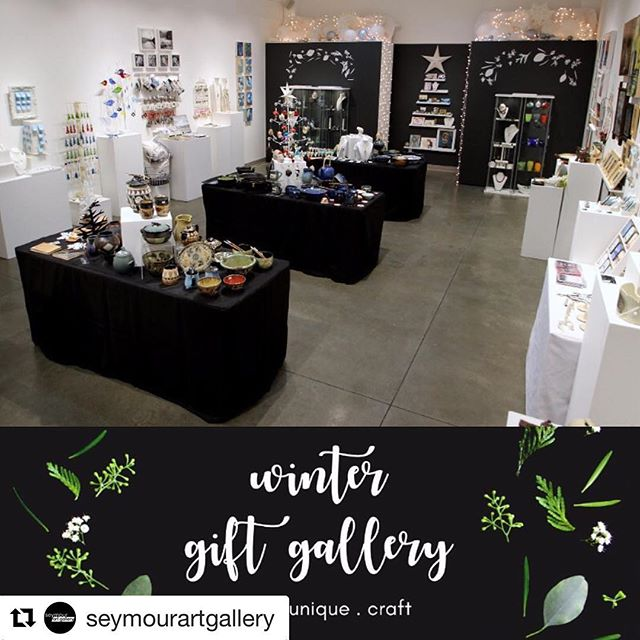 A beautiful gift gallery of local handmade art awaits you @seymourartgallery in Deep Cove this Xmas season! . .  #Repost @seymourartgallery (@get_repost) ・・・ Give local this year - Winter Gift Gallery is now OPEN! A visitor jokingly asked us if we had a Black Friday sale this morning... 😂 This is the antithesis of Black Friday: local, unique, handmade. . . . We include a bio card with each purchase so your loved ones know you supported local artists and our non-profit gallery. It's truly a feel-good shopping experience! . . . We are open Tuesday – Sunday, 10:00 a.m. – 5:00 p.m. and open late on Thursdays until 8:30 p.m. . . . RECEPTION this Sunday November 26, 2:00 – 4:00 p.m. Meet the artists and enjoy homemade holiday baking Free card-making project for kids! . . . FREE ADMISSION! Winter Gift Gallery continues to December 24 . . . ARTISTS INCLUDE: Adele Maskwa-Iskwew Arseneau (@metiscaron), Jenn Ashton (@raveonstudio), Liz de Beer (@klaywerk_studio), Megan Bennett (@fivecornerscreative), Kayo Benson (@kayobenson), Josee Carriere, Tony Chotem, Matthew Freed, Hope Forstenzer (@hopeforstenzer), Marina Georgiadis (@vantidesigns), Connie Goldhawke, Suzanne Goodwin (@illuminaphotographics), Jodi Heinhorst (@jodi3363), Shima Itabashi (@himcreations), Heather Johnston (@heatherjohnstonphotography), Himali Kuwabara (@deepforestjewelry), Sonya Labrie (@sonyalabrie), Chi Cheng Lee (@chiscreations), Joan Leslie, D'Arcy Margesson, Barb Matthews, Liane McLaren (@liane_mclaren_varnam), Hilary Morris (@beaverpondhilary), Carolyn diPasquale, Tamara Phillips (@tamaraphillipsart), Susan Rankin, Sarah Ronald (@sarahronaldartist), Leonid Rozenberg (@leonidr65), Minori Takagi (@minoritakagi), Tannis Turner, Christine Waldie, and Kate Whitehead (@kilnkate)