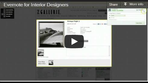 Evernote for Interior Designers