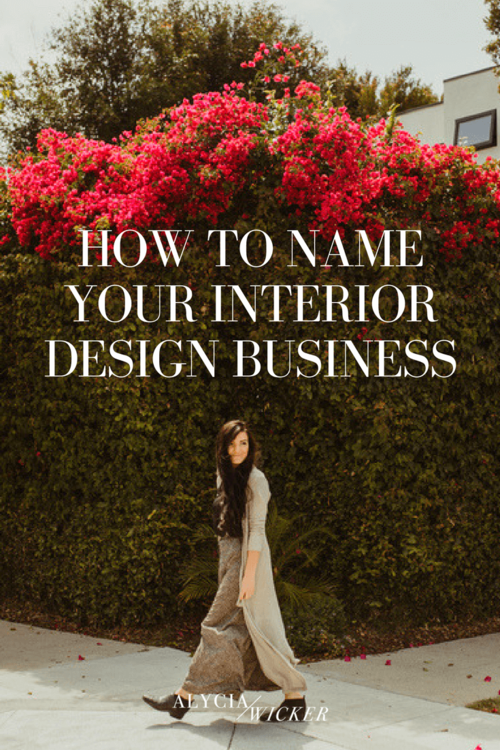 how to name your interior design businesspng - Interior Designer Name