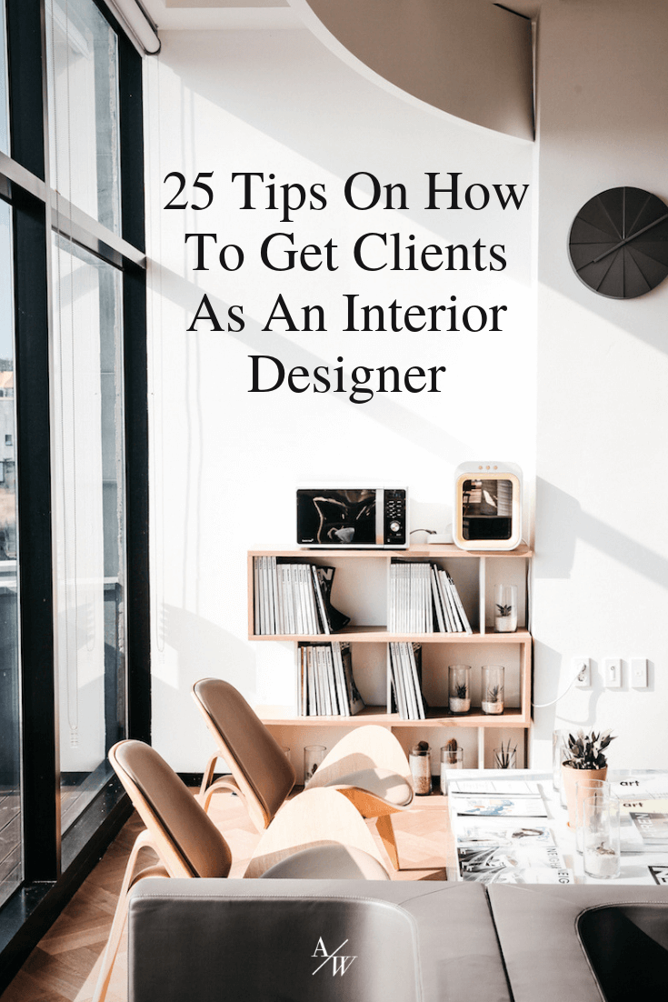 How to get clients as an interior designer