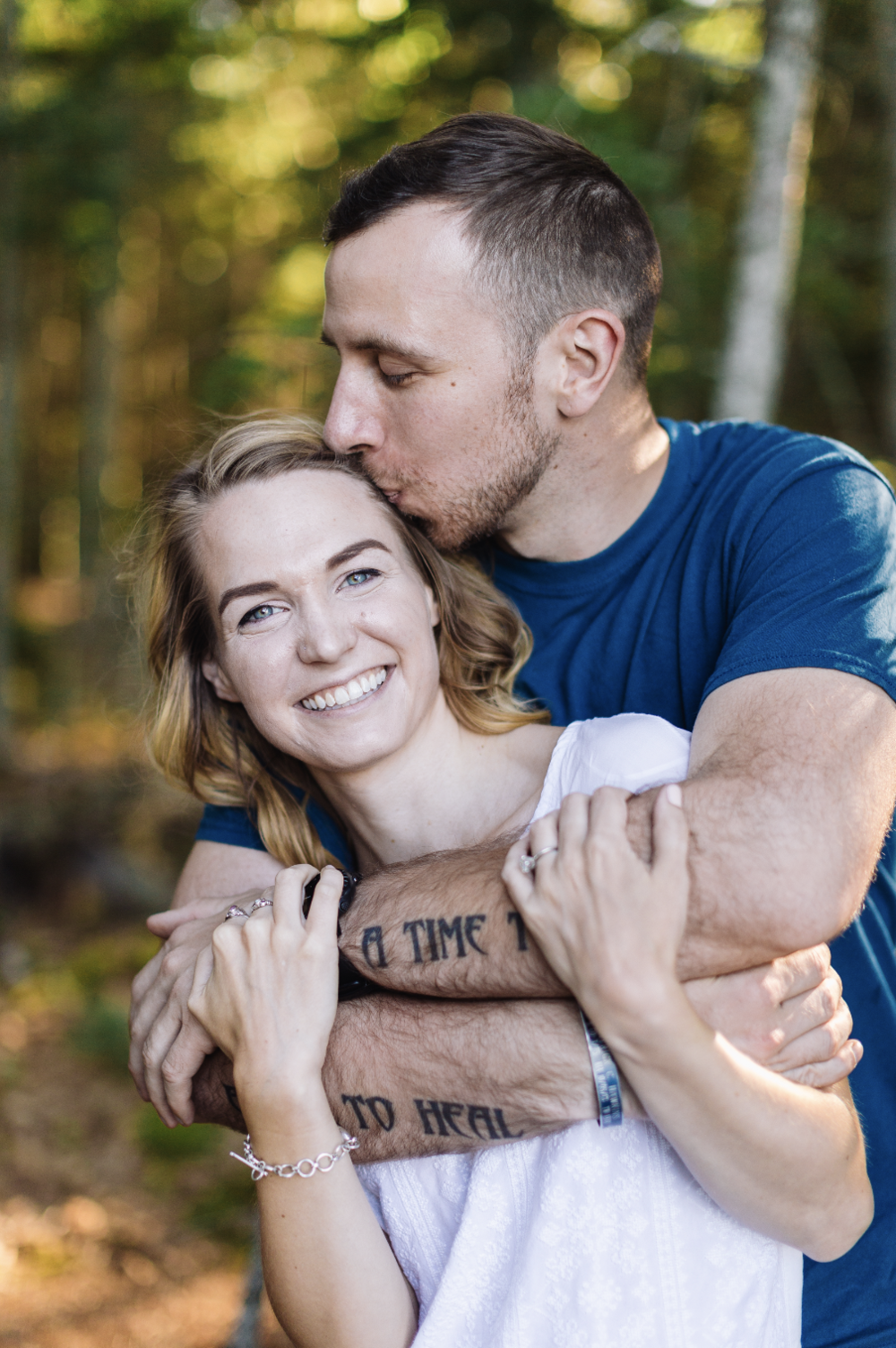 From Carly + Justin's engagement session.