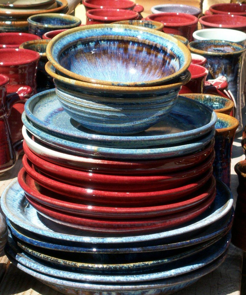Custom dishware.