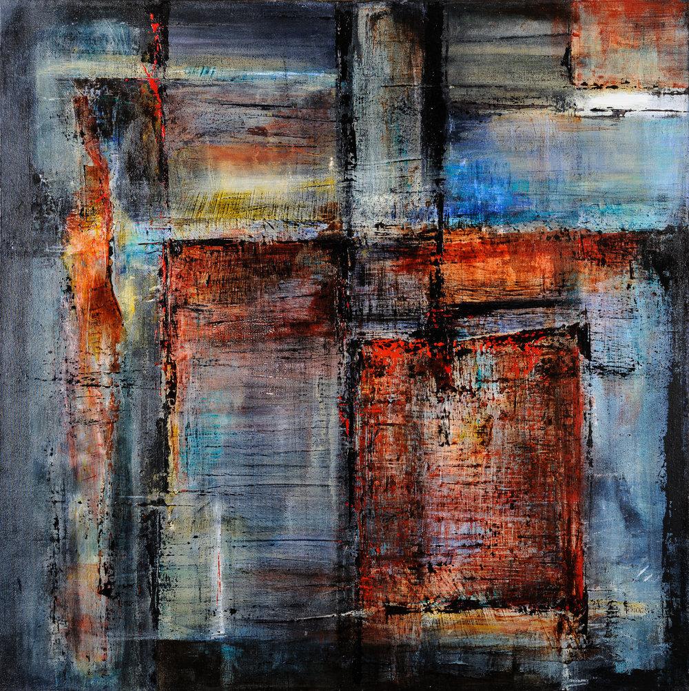 Méandres | Composition 341 (vendu)