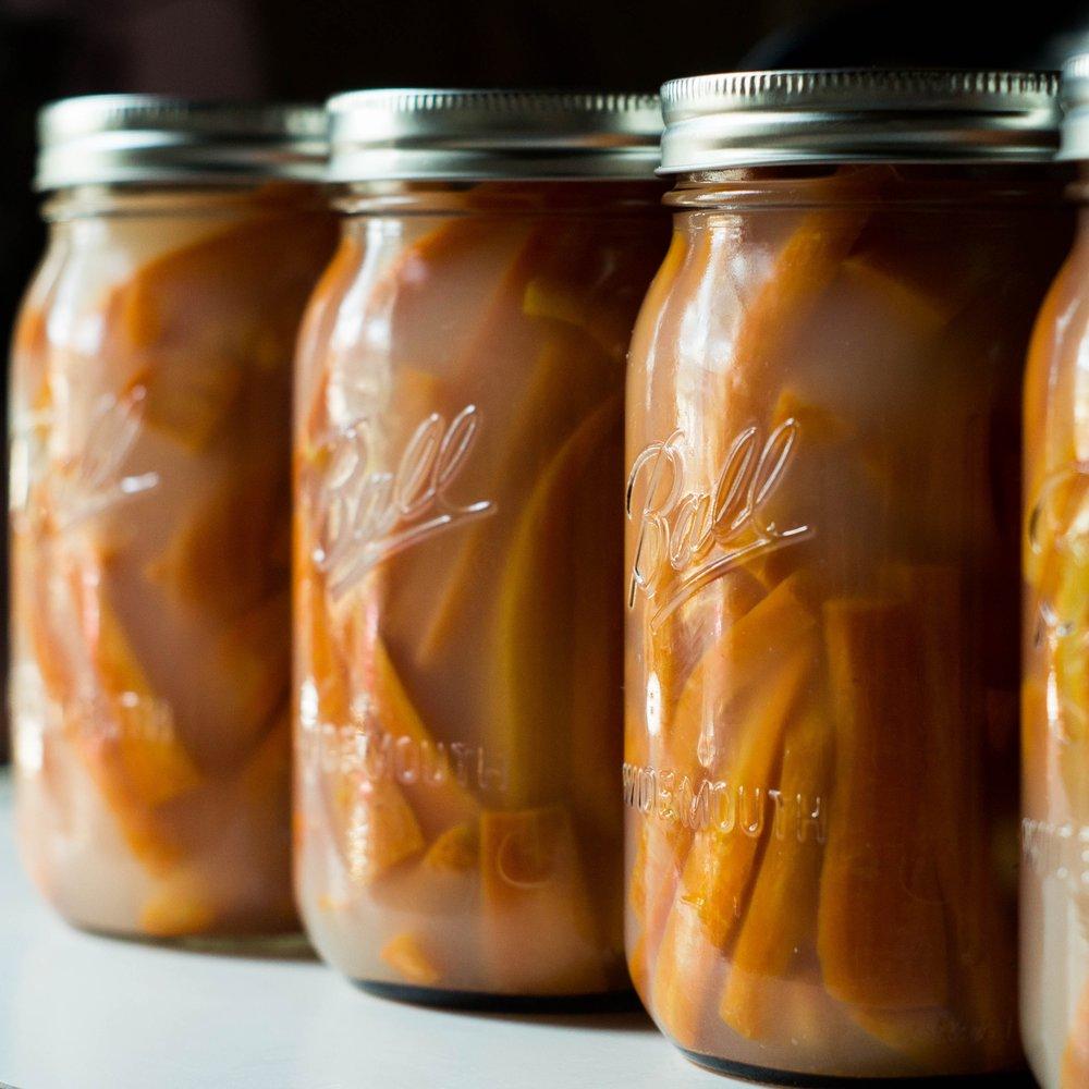 fermented carrots fermentation by samantha spigos