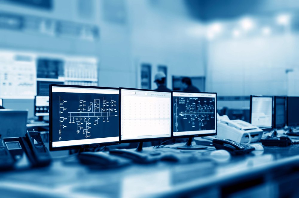 Programmation d'écran d'opération sur base serveur