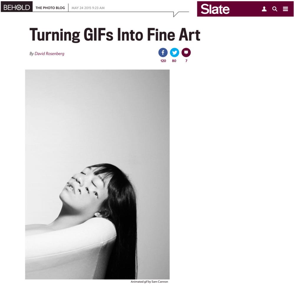 Writeup on Slate's photoblog, Behold