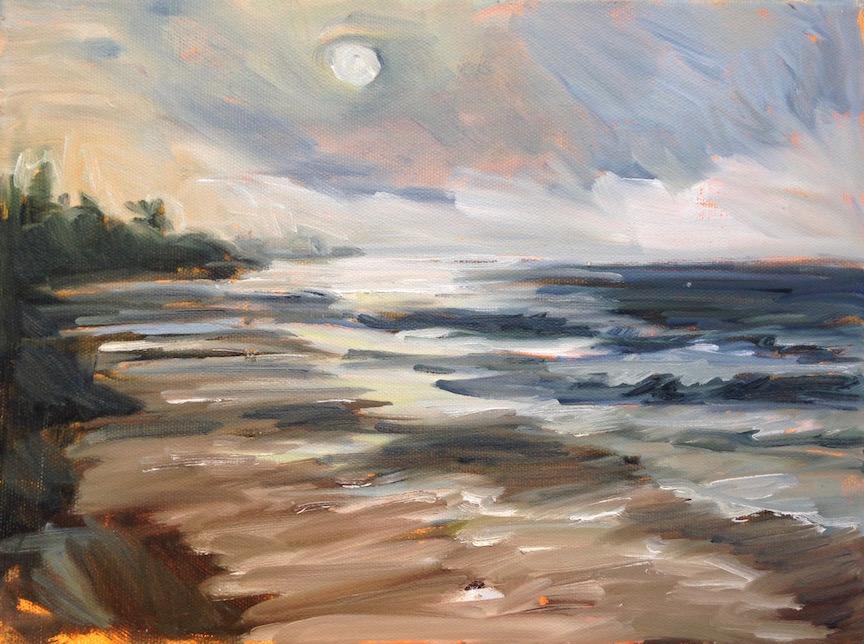 high tide full moon