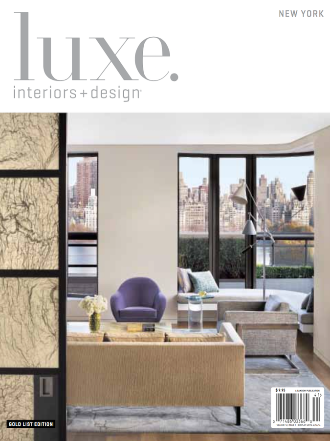luxe. interiors + design Winter 2014