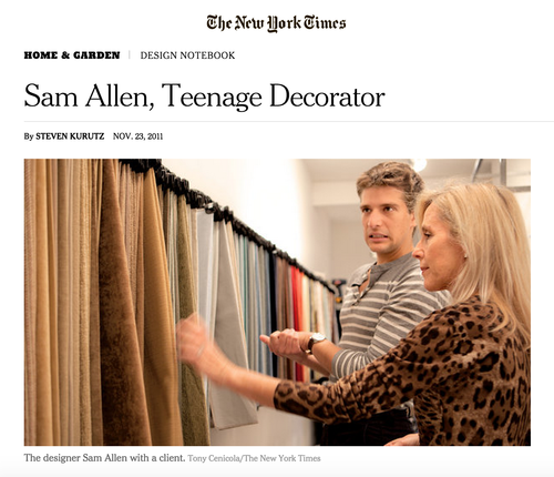 Press — Sam Allen Interiors